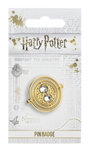 Harry Potter - Fixed Time Turner Pin Badge - Cover