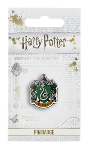 Harry Potter - Slytherin Crest Pin Badge - Cover
