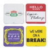 Friends - Quotes & Logo Coasters (Set of 4)
