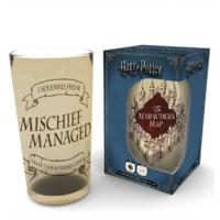 Harry Potter - Marauders Map Coloured Glass (Large)