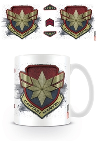 Captain Marvel - Badge Mug - Cover