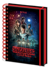 Stranger Things - One Sheet Wiro A5 Notebook