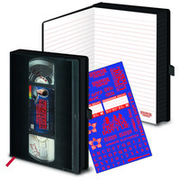 Stranger Things - Premium Style VHS A5 Notebook - Cover