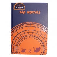 The Lion King - No Worries A5 Notebook - Cover