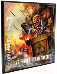 Five Finger Death Punch - Justice For None Wall Art