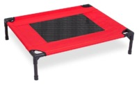 Cosmic Pets - Elevated Cot Dog Bed - Small (Red)