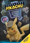 Detective Pikachu: Sticker Activity Book - Pokemon (Paperback)