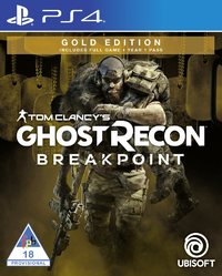 Tom Clancy's Ghost Recon: Breakpoint - Gold Edition (PS4) - Cover