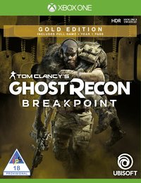 Tom Clancy's Ghost Recon: Breakpoint - Gold Edition (Xbox One) - Cover