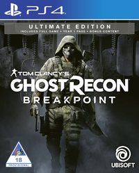 Tom Clancy's Ghost Recon: Breakpoint - Ultimate Edition (PS4) - Cover