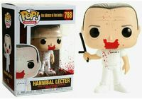 Funko Pop! Movies - Silence of the Lambs - Hannibal (Blood Splatter) Vinyl Figure - Cover
