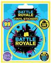 Fortnite - Battle Royale Vinyl Sticker Sheet of 5 Individual Stickers