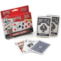 Bicycle - Playing Cards: Rummy Deck 2-Pack Set (Card Game)