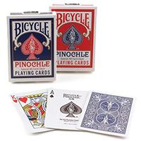 Bicycle - Playing Cards: Pinochle Standard Index (Card Game)