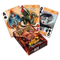 Bicycle - Playing Cards: Anne Stokes Age of Dragons (Card Game) - Cover