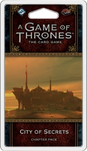 A Game of Thrones: The Card Game (Second Edition) - City of Secrets (Card Game) - Cover