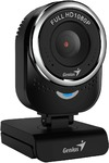 Genius QCam 6000 1080p FHD Webcam - Black