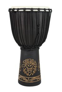 Toca Origins Series 10 Inch Lion Djembe (Natural) - Cover