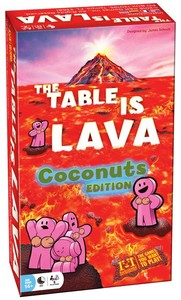 The Table is Lava - Coconuts Edition Expansion (Board Game) - Cover
