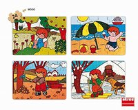 Akros - Set Zaro and The 4 Seasons Puzzle (24 Pieces) - Cover