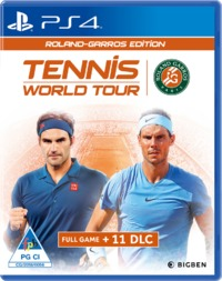 Tennis World Tour Roland - Garros Edition (PS4) - Cover