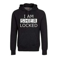 Sherlock I Am Sherlocked Men's Black Hoodie (Medium) - Cover