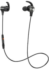 TaoTronics - IPX5 Wireless Bluetooth 5.0 Up to 9 Hours Battery In-Ear Headphones - Black