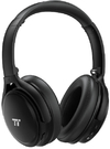 TaoTronics - Active Noise Cancelling Wireless Bluetooth 4.2 Up to 30 Hours Battery Headphones - Black