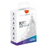 Ultimate Guard - Katana Sleeves Standard Size Card Sleeves - Orange (100 Sleeves)