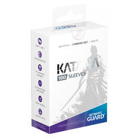 Ultimate Guard - Katana Sleeves Standard Size Card Sleeves - Transparent (100 Sleeves)
