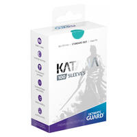 Ultimate Guard - Katana Sleeves Standard Size Card Sleeves - Turquoise (100 Sleeves)