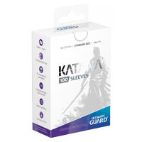 Ultimate Guard - Katana Sleeves Standard Size Card Sleeves - White (100 Sleeves)