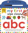 My First Wipe Clean ABC - Roger Priddy (Hardcover)