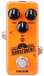 NUX Konsequent Mini Core Series Digital Delay Electric Guitar Mini Effects Pedal (Orange)