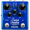 NUX Solid Studio I.R and Amp Simulator Electric Guitar Effects Pedal (Blue)