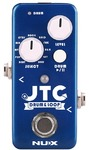 NUX JTC Mini Series Drum and Loop Electric Guitar Mini Pedal (Blue)