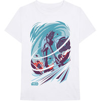 Star Wars - AT-AT Archetype Men's White T-Shirt (Medium) - Cover
