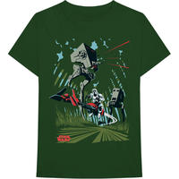 Star Wars - AT-ST Archetype Men's Green T-Shirt (XX-Large)
