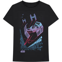 Star Wars - TIE Fighter Archetype Men's Black T-Shirt (Small)