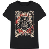 Star Wars - Vader Decor Men's Black T-Shirt (Medium)