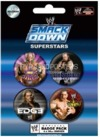 WWE Smackdown Superstars (078) Badge pack