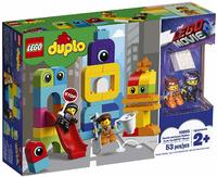 LEGO® DUPLO® - Emmet and Lucy's Visitors from the DUPLO Planet (53 Pieces)
