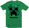 Minecraft - Splatter Creeper - Youth T-Shirt - Green (15-16 Years)