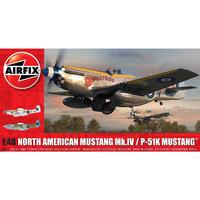 Airfix - 1/48 - North American Mustang Mk.IV (Plastic Model Kit)