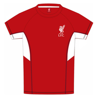 Liverpool - Red Panel Kids T-Shirt (8/9) - Cover