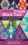 The Quick & Easy Triangle Block Tool - Sheila Christensen (Paperback)