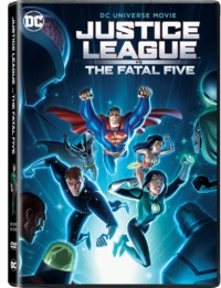 DCU: Justice League Vs The Fatal Five (DVD)