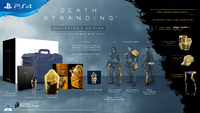 Death Stranding - Collector's Edition (PS4) - Cover