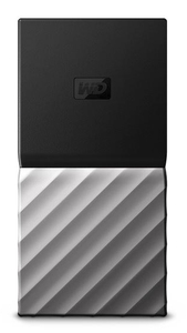 WD - My Passport USB 3.1 Portable Mini 512GB External Solid State Drive - Cover