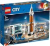 LEGO® City Space Port - Deep Space Rocket and Launch Control (837 Pieces)